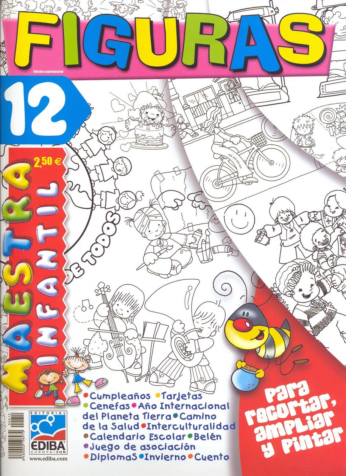 REVISTA  Figuras  Maestra Infantil 12